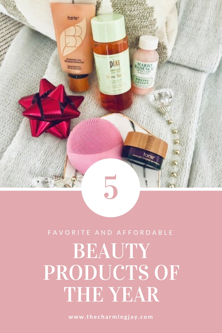 My 5 Favorite Beauty Products of the Year