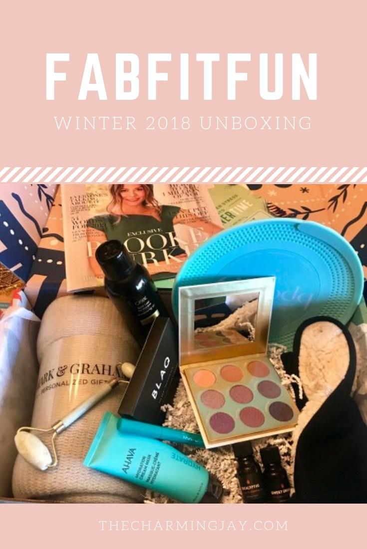 FabFitFun Winter 2018 Unboxing