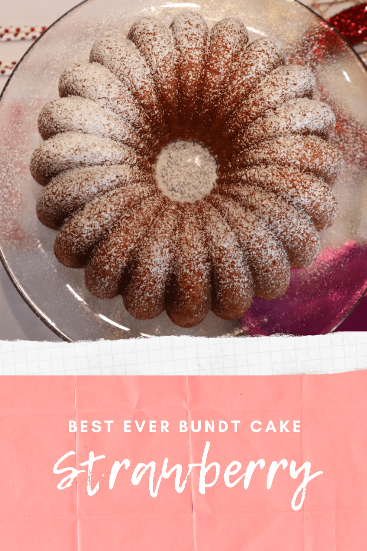 Perfect Strawberry Bundt Cake