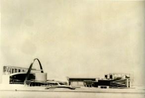 Le Corbusier - Palais des Soviets, Moscow, Russia (1930)