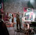 Appartement, 24 rue Nungesser et Coli, Boulogne-Billancourt Atelier. Peintures - Le Grand Ubu (1949), Taureau IV, Androuet (1953)