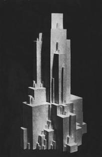 Malevich, vertical arkhitekton