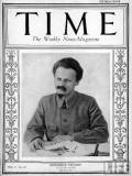 Commissar Trotsky on the cover of Time Magazine