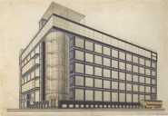 Il'ia Golosov, Elektrobank project in Moscow (1926)
