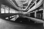 Interior to the Fiat Lingotto auto manufacturing plant, 1920s