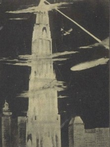 Detail of Georgii Krutikov's Flying City (1928)