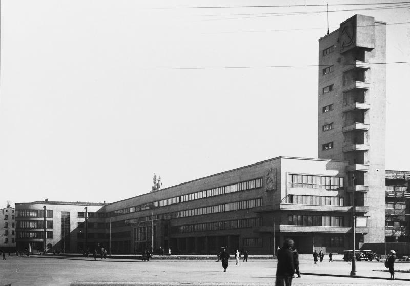 Nikolai Trotskii, Stachek region (1933). Photo 1934.