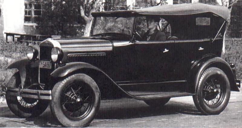 ГАЗ-А — легковой автомобиль среднего класса с открытым 5-местным 4-дверным кузовом типа фаэтон. Лицензионная копия автомобиля Ford-A 1