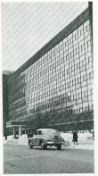 Corbusier's Tsentrosoiuz building in Moscow, 1960