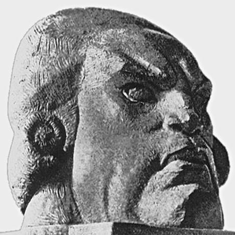 "Nikolai Andreev's ""Head of Danton""(1919) «Голова Дантона», 1919 г. Н. Андреев"