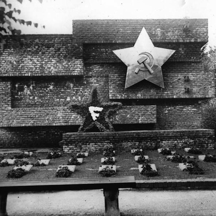 Mies' Memorial to Rosa Luxemburg and Karl Liebknecht (1926)