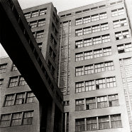 Central administration building by Serafi mov, Fel'ger and Kravec, Kharkiv, c. 1931, photo: Ernst May