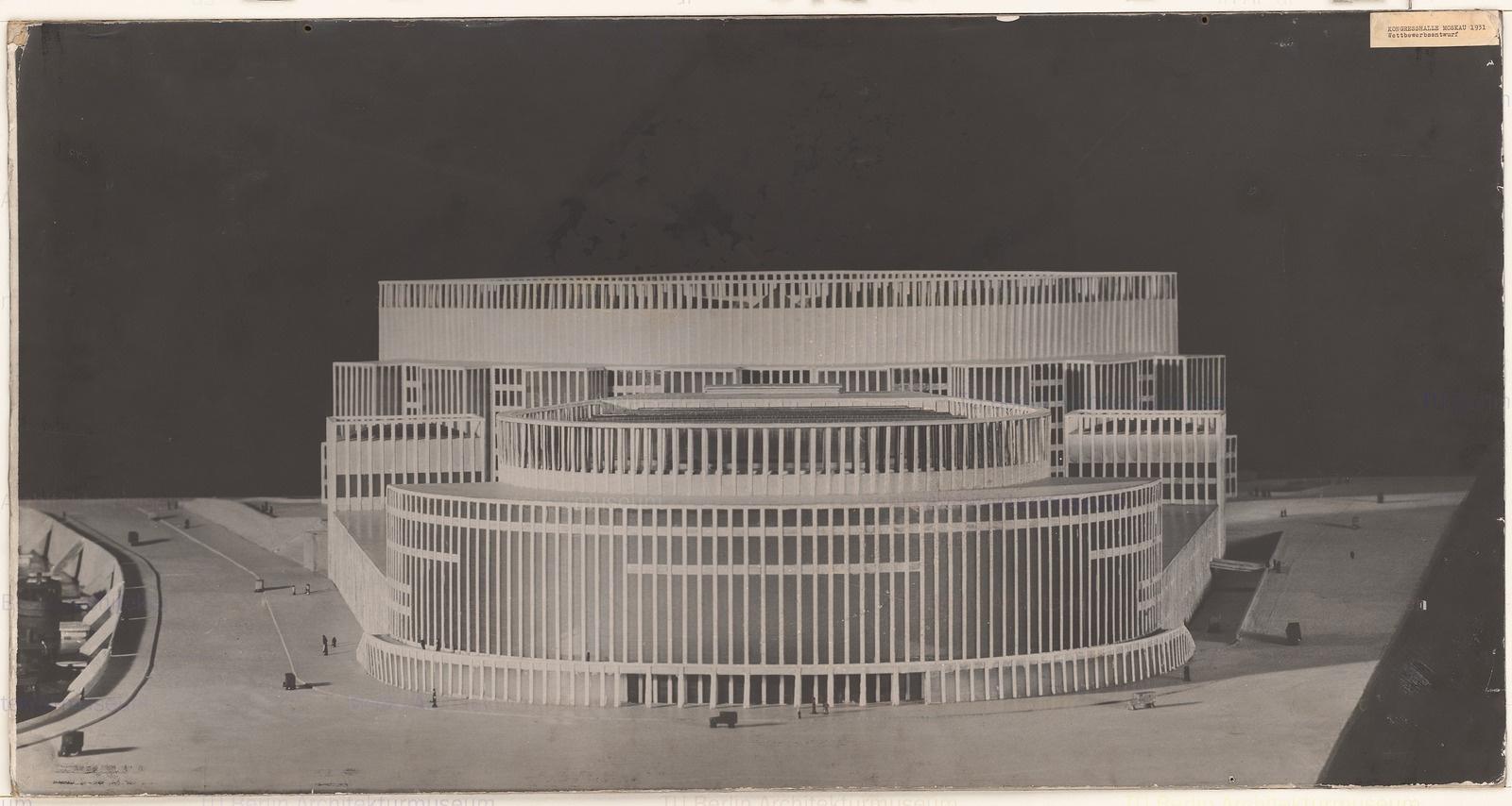 Hans Poelzig, Palast der Sowjets (1931)