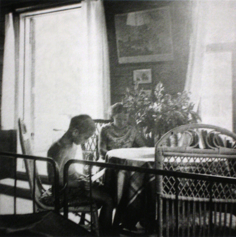 Ilse and Thomas May in their dacha circa 1931, photographed by their father Ernst May