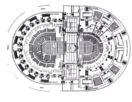 Erich Mendelsohn, plan for the submission to the Palace of the Soviets competition (1931)