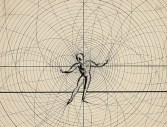 Drawing by Oskar Schlemmer