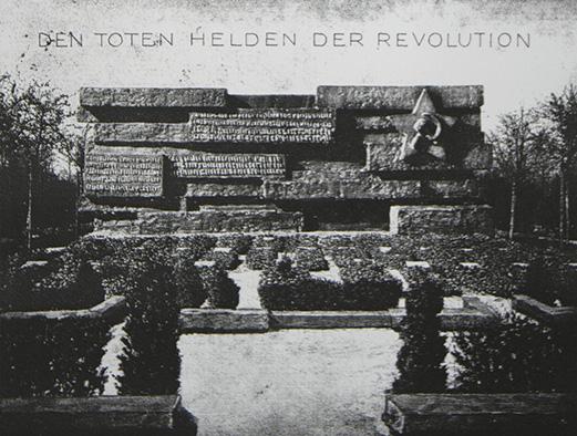 """""""Den Toten helden der Revolution"""" [The dead heroes of the revolution]"""