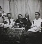 Wilhelm Hauss, Jekaterina Nikolaevna, Frolov, and Ernst May, Magnitogorsk circa 1931)