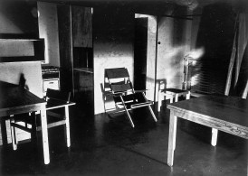 Furnishings of a popular flat, 1929. Design and execution by Bauhaus students