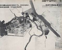 Hannes Meyer's plan for the experimental Jewish capital in Siberia, Birobidzhan (1932)