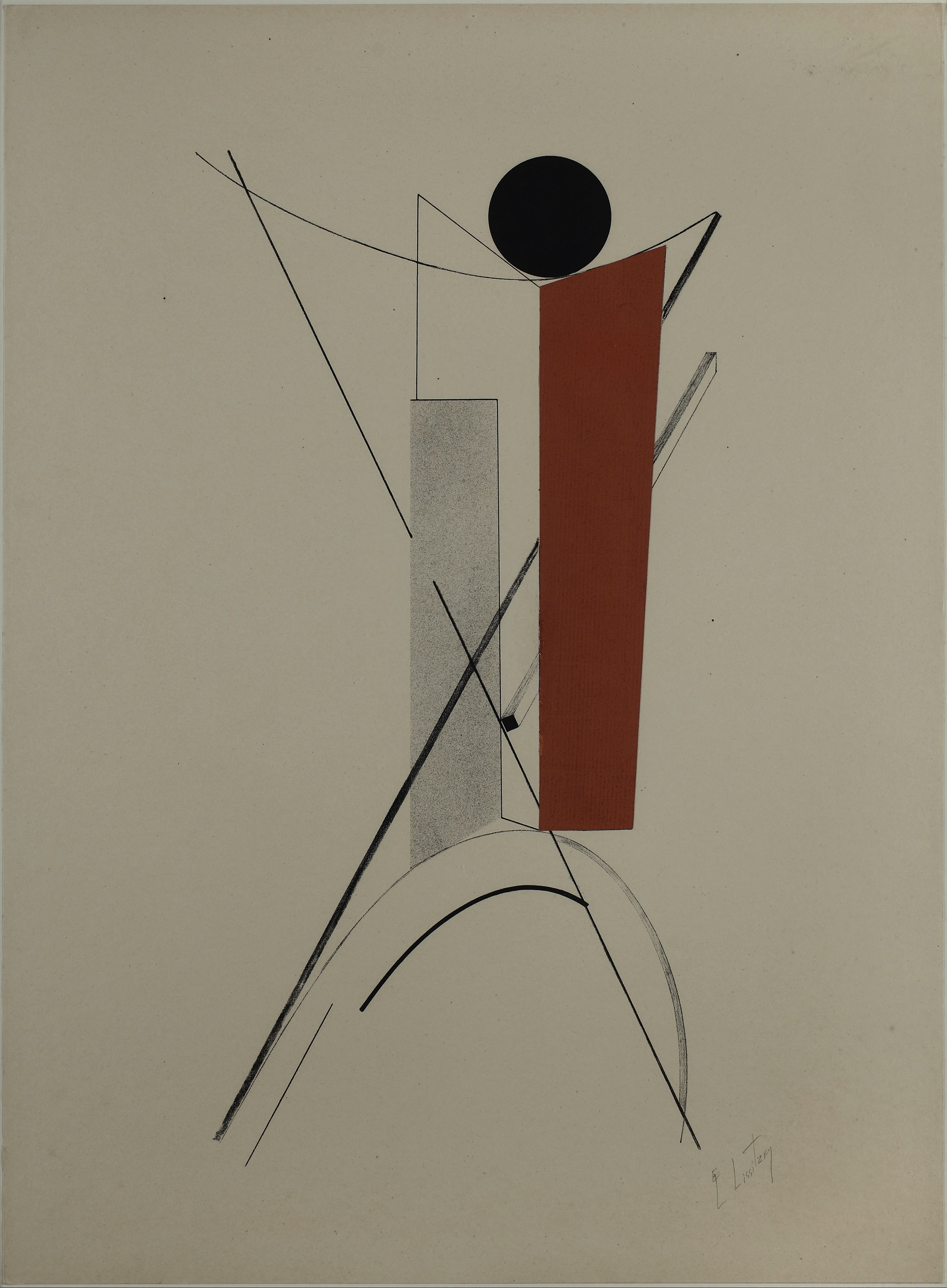 El Lissitzky, PROUN Hannover 3 (1920)