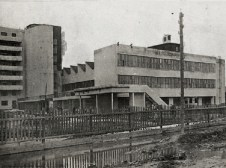 Ivan Nikolaev's student housing-commune in Moscow, 1929-1930