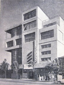Il'ia Golosov, Zuev workers club in Moscow (1928-1931), photo 1950s