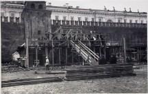 Мавзолей.Строительство-10 Мы думаем, что снимок сделан в 1924 году (направление съемки − west)