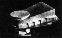 G. Glushchenko, Diploma project on the theme %22House of the Unions%22 (for 10,000 people), 1928 studio of Nikolai Ladovskii, model2