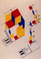 Joost Schmidt, Mechanical stage design, 1925-1926, Ink and tempera on paper, 64 x 44 cm1