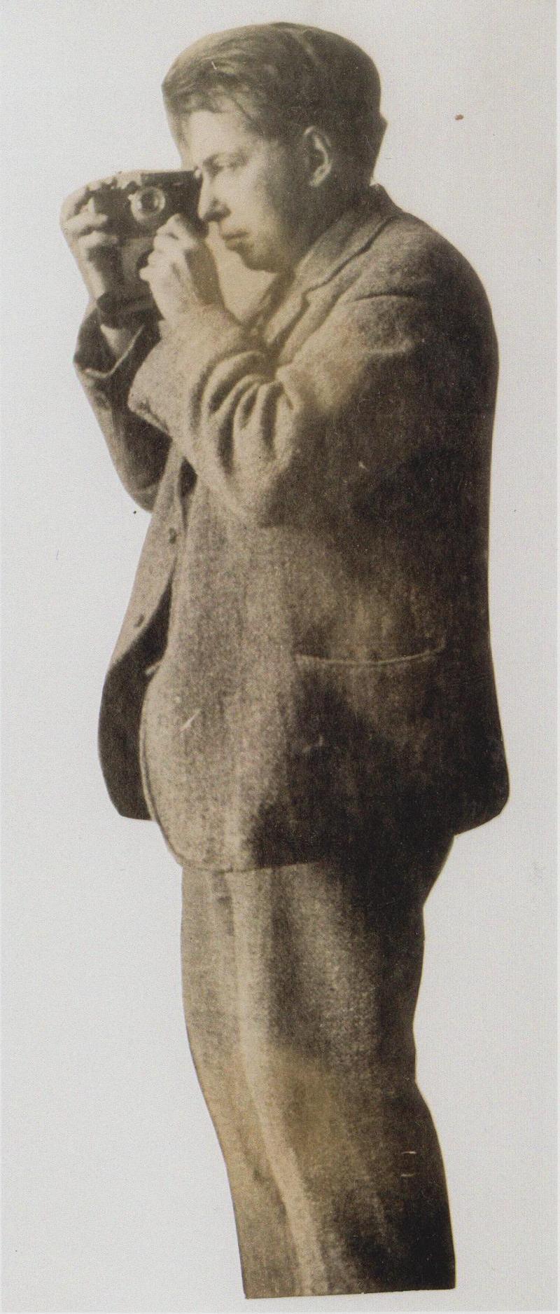 И. Г. Эренбург. Иллюстрация к книге И. Г. Эренбурга %22Мой Париж%22. 1920-е