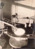 Проект организации пространства для неосуществленной постановки театра В. Э. Мейерхольда по пьесе С. М. Третьякова %22Хочу ребенка%22. Макет. 1928