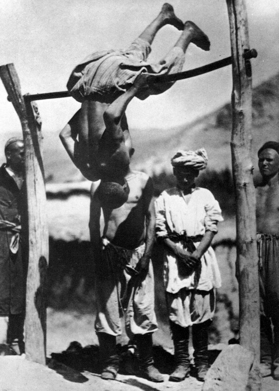 1927. Сельские физкультурники