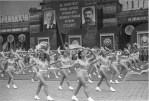 Москва. Колонна спортсменов. 1937. Фото И. Шагина. Москва. Физкультпарад. 1938. Фото Э. Евзерихина. Москва. Парад на Красной площади. 1939.