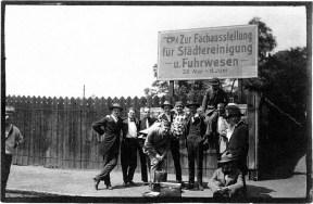 Congres van de Unie van Internationale Progressieve Kunstenaars in Düsseldorf, mei 1922