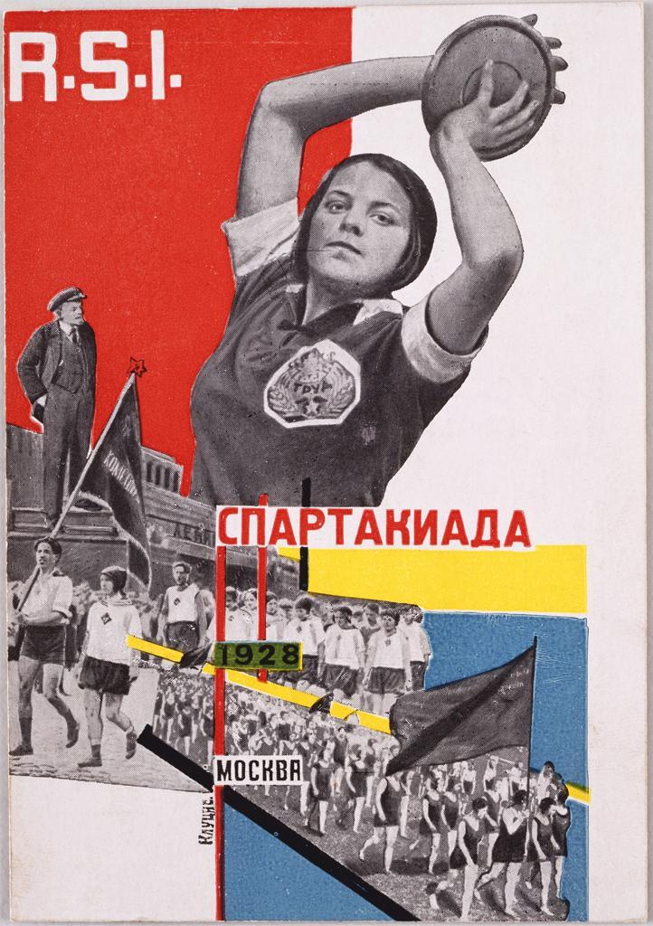 Spartakiada Moskva- Gustav Klucis