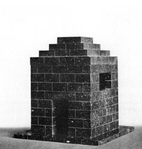 Adof Loos, Mausoleum for Max Dvořák, (1921)