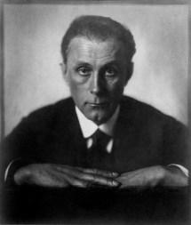 Adolf Loos, 1922 /Trude Fleischmann /sc