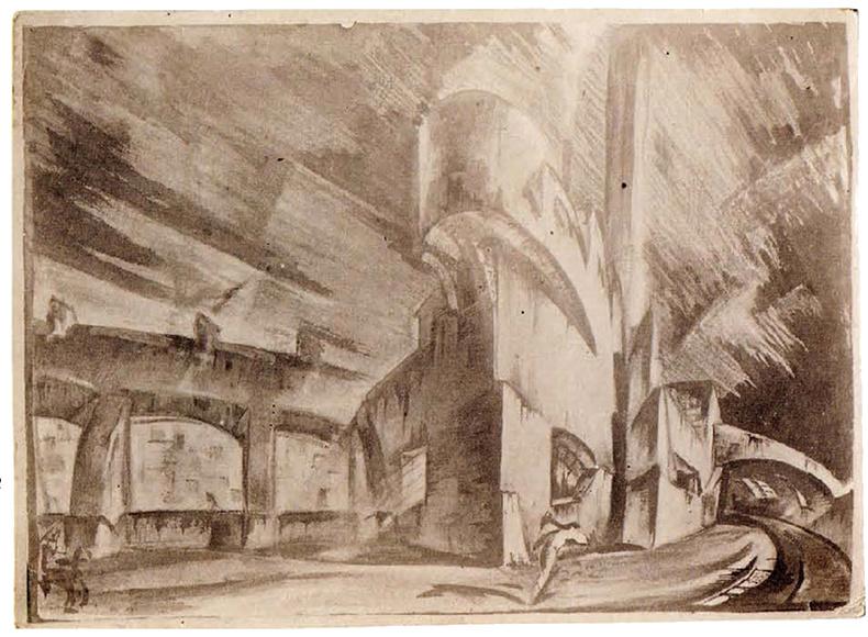 G Vegman steam locomotive depot 1922