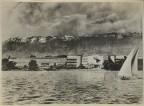 Projet pour le Palais des Nations à Genève. Vue du Lac between 1927 and 1929