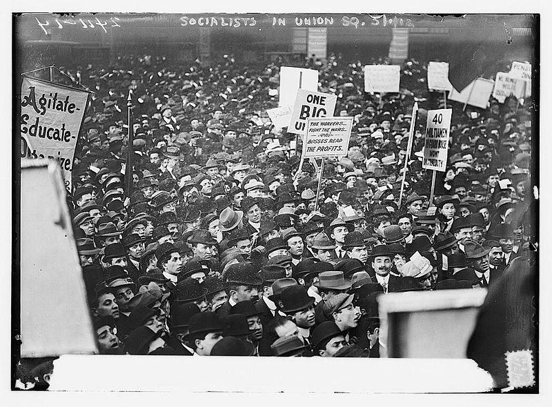 1 Mai 1912 à New York