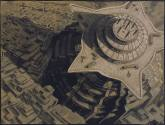 Erich Kettelhut, sketch for Fritz Laing's Metropolis (1925)