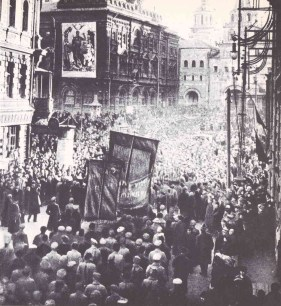 May Day 1919 in Moscow