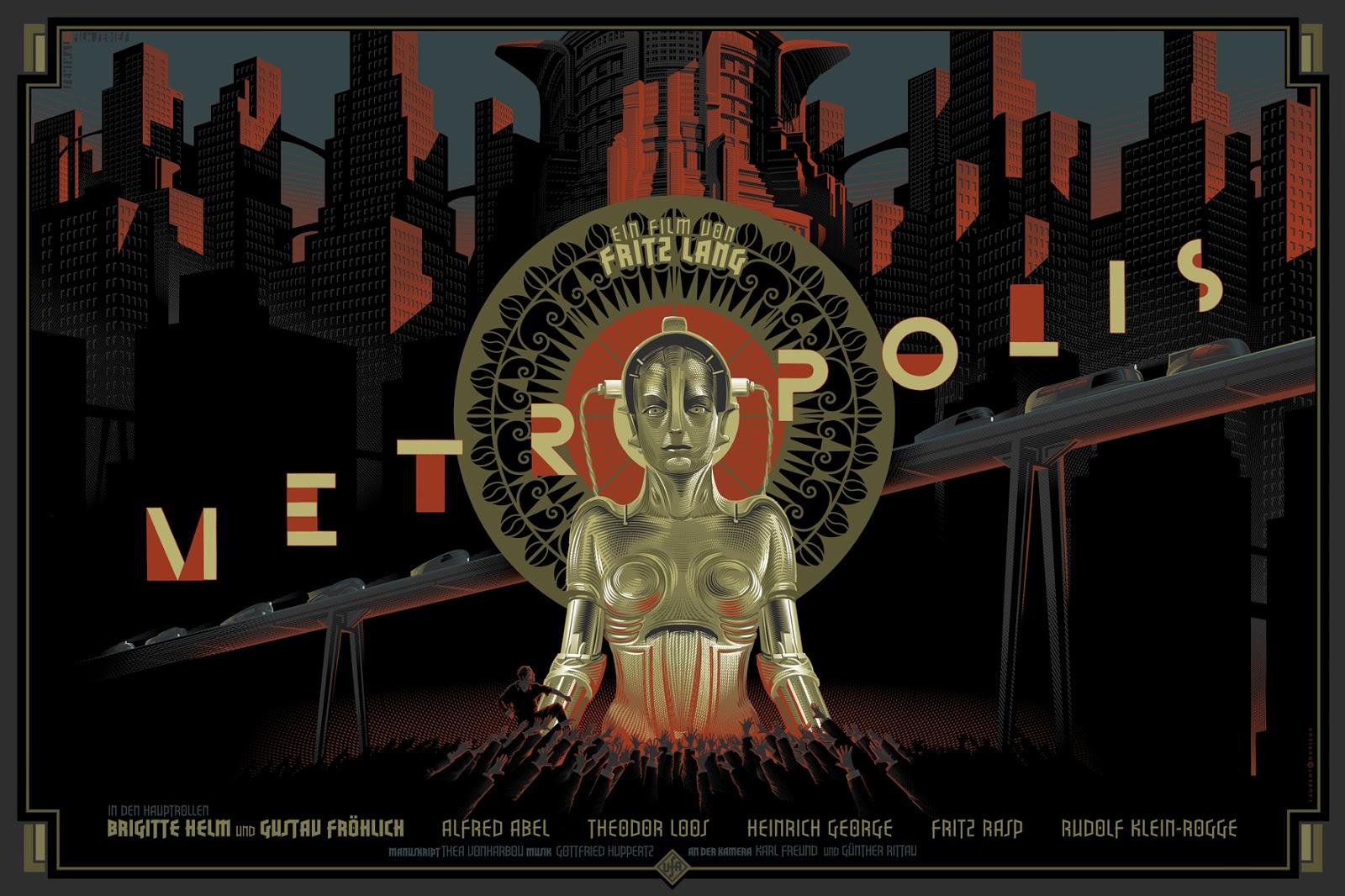 Metropolis-movie-poster-Laurent-Durieux