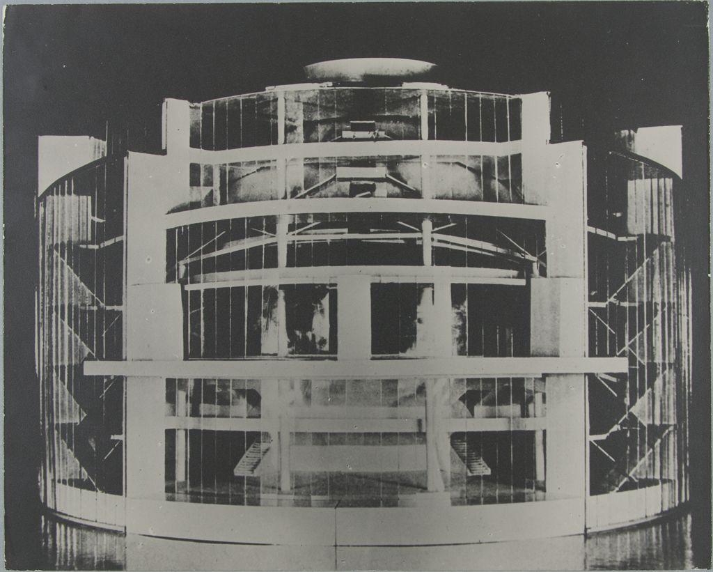 Unidentified Artist Walter Gropius Total Theater for Erwin Piscator, Berlin, 1927, 1927b