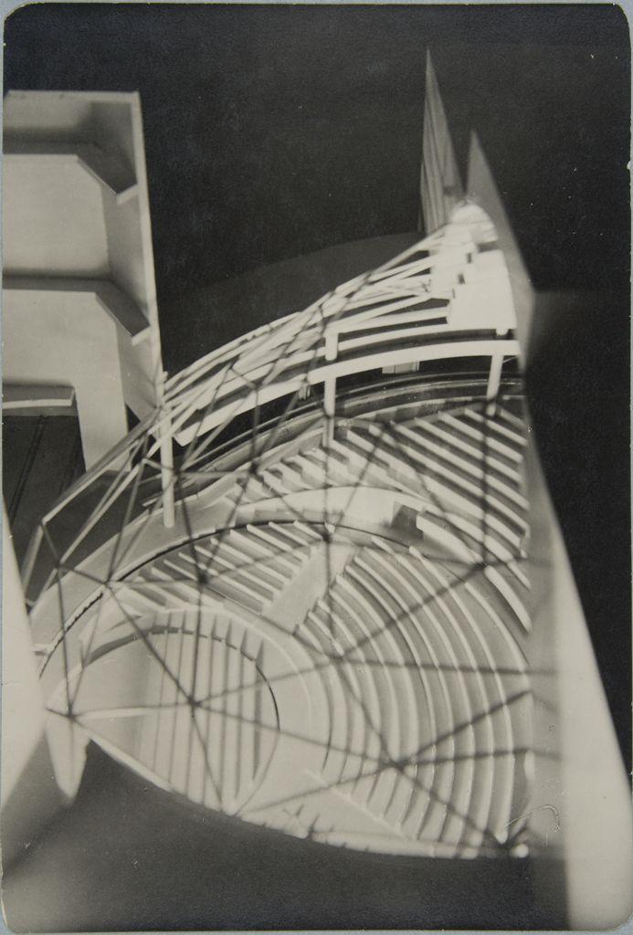 Unidentified Artist Walter Gropius Total Theater for Erwin Piscator, Berlin, 1927, 1927c