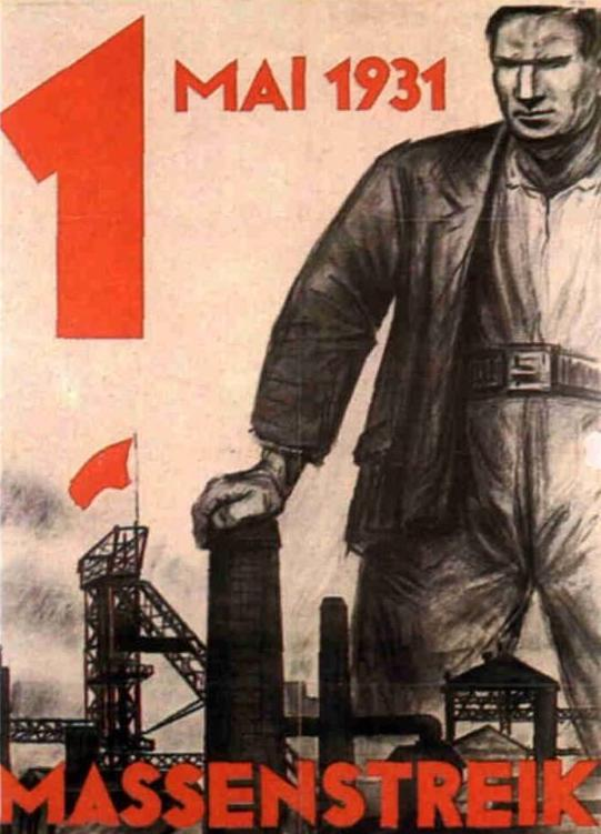 1.Mai Plakate 1900 bis 1989