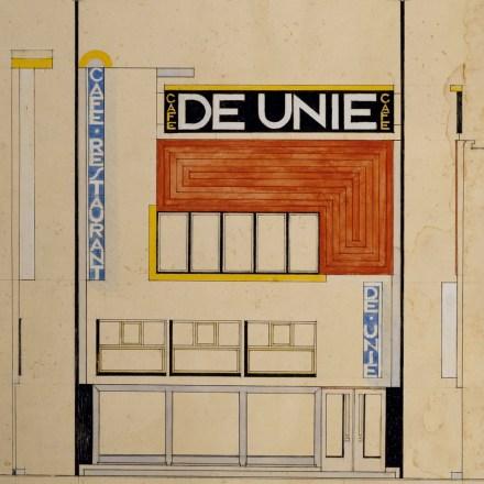 Bedwelming JJP Oud, Café de Unie in Rotterdam (1925) | The Charnel-House @YH09