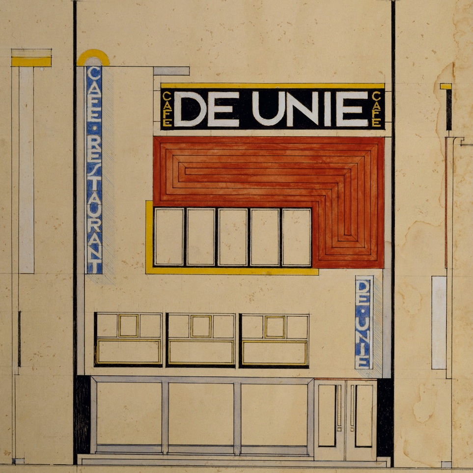 JJP Oud, Café de Unie in Rotterdam (1925)