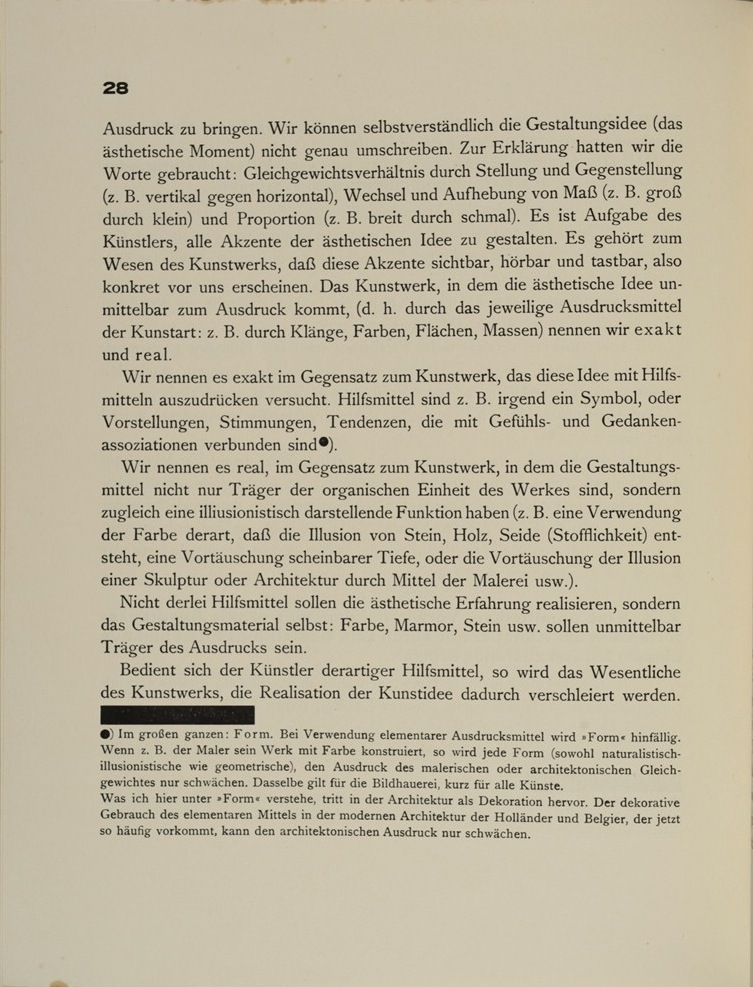 Theo van Doesburg, Grundbegriffe der neuen gestaltenden Kunst. Bd. 6, München 1925%0ATheo van Doesburg, Grundbegriffe der neuen gestaltenden Kunst. Bd. 6, München 1925-30